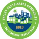 TVA sustainable community logo