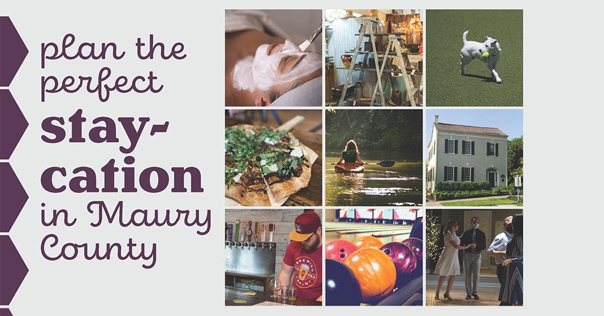 staycation, maury county
