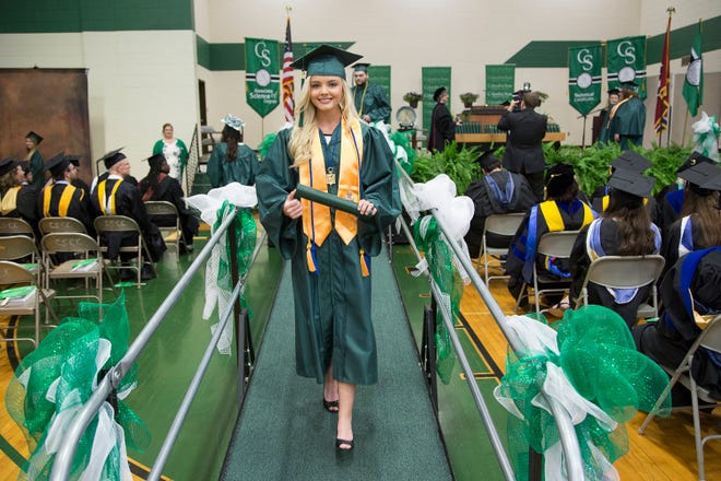 columbia state graduation, top school